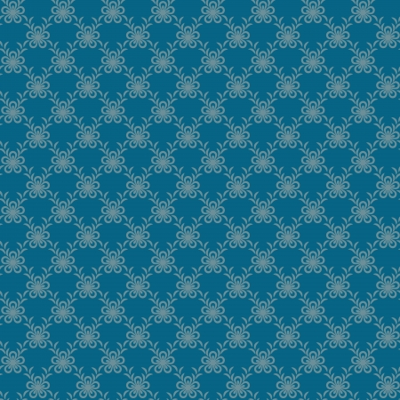 Blue floral net seamless background