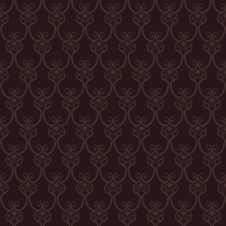 Seamless brown wallpaper pattern