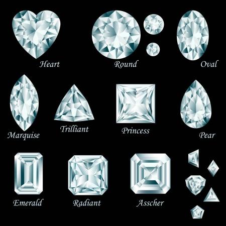 Diamond cut set