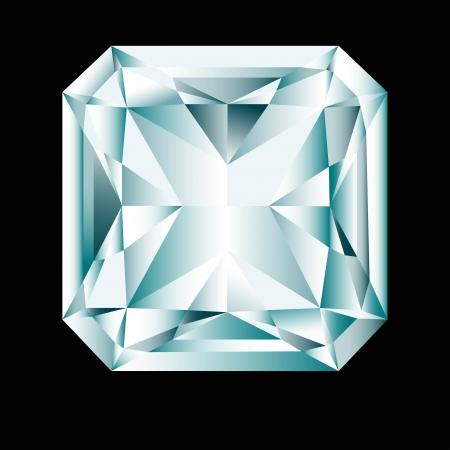 radiant: Diamond cut  radiant  Illustration
