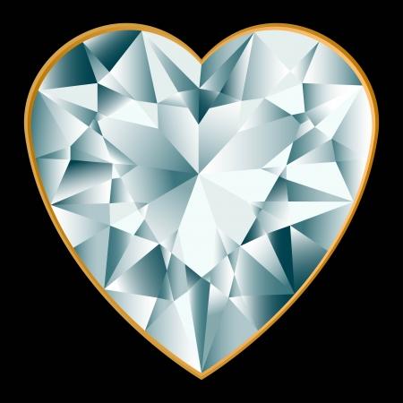 rhinestone: Diamond heart