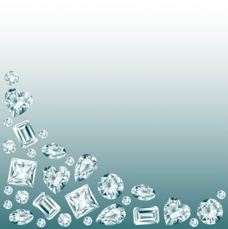 rhinestone: Diamonds background