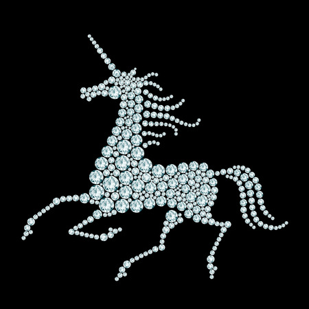 Running unicorn diamond composition