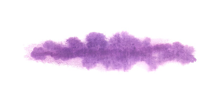 horizontal: Horizontal blended paint blot Illustration