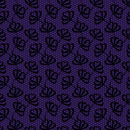 violet background: Nero senza motivo floreale su sfondo viola