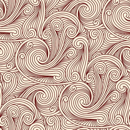 Seamless engraving pattern Illustration