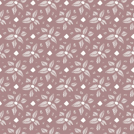 taupe: Flower lace seamless pattern