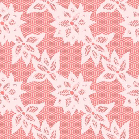 seamless: Flower lace seamless pattern