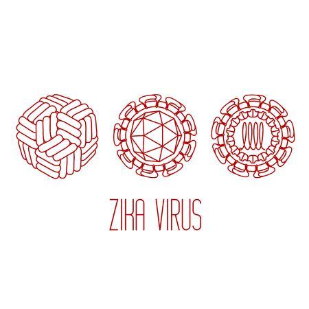 structure: Zika virus structure