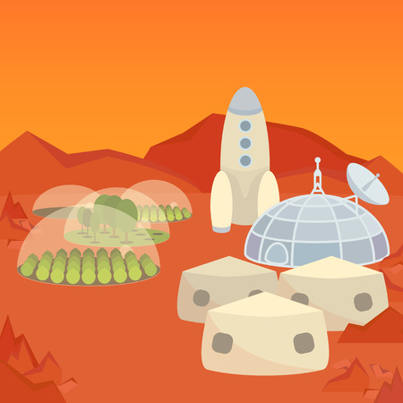the settlement: Mars colonization settlement