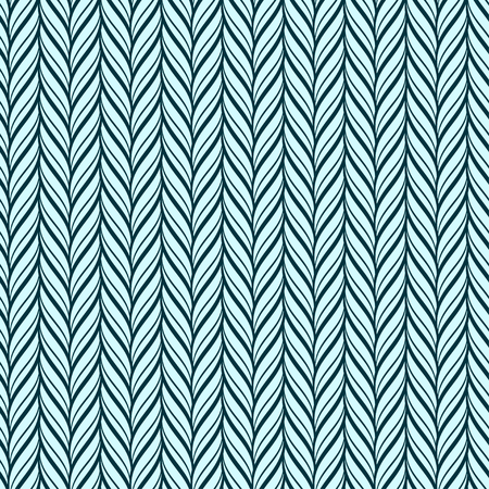 repetition row: Knitted fabric seamless pattern