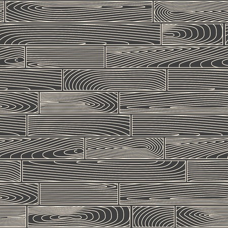 seamless pattern: Seamless linear wooden planks pattern
