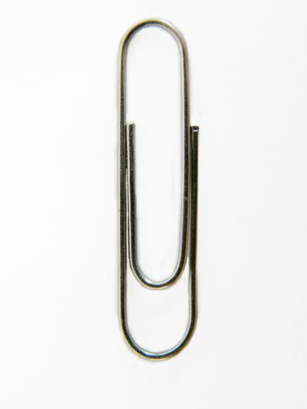 metal fastener: paper clip
