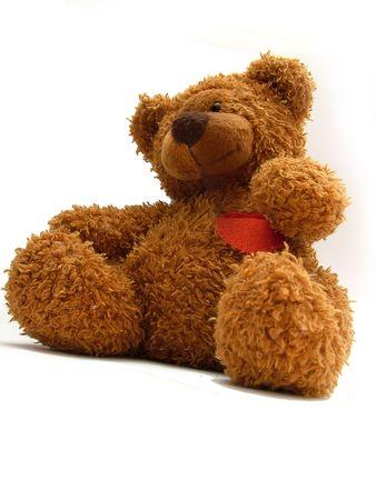 neglected: teddy bear Stock Photo