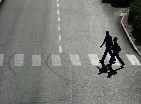 pedestrian crossing Stock Photo - 337667