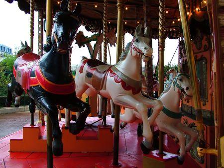 merry go round: carousel, merry go round Stock Photo