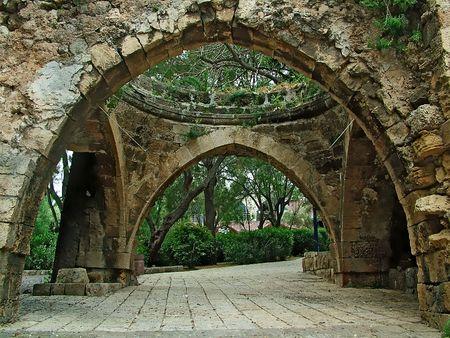 jaffa: Ancient part of  Jaffa , Israel