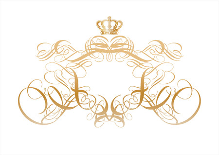 Vector ornamental elements. Suggested uses: titling frame and corner details. Stock Vector - 649366