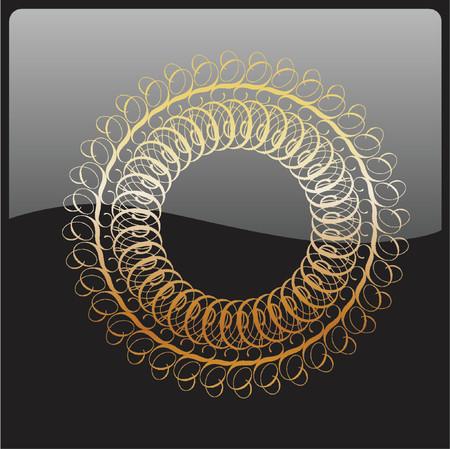 Vector ornamental elements. Suggested uses: titling frame and corner details. Vector illustration. Stock Vector - 722372