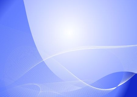 blue  abstract lines background  photo