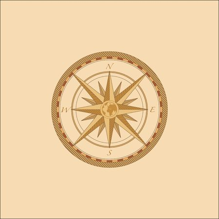Compass Windrose    Stock Photo - 852659