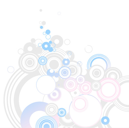 Circle background - Illustration of background useful for many applications. . Vector illustration. Vector