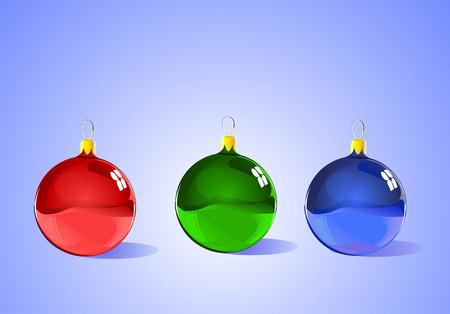 schaalbaar: Kerst structuur decoraties - is elk item afzonderlijk en schaalbare - klaar voor Kerst mis, winter of seizoens aanbiedingen.