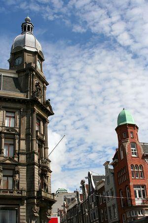 Amsterdam architecture. photo