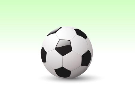olympic stadium: Vector illustration of a Football  Soccer ball.