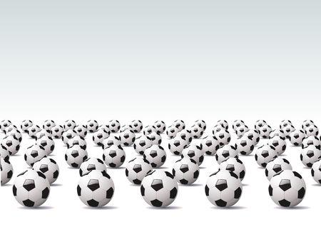 Vector illustration – sport  background, Soccer theme. illustration