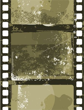 Vector illustration of  Grunge Film seamless pattern illustration