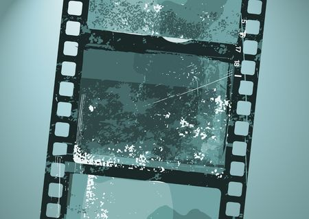 Vector illustration of  Grunge Film pattern Stock Illustration - 4031530