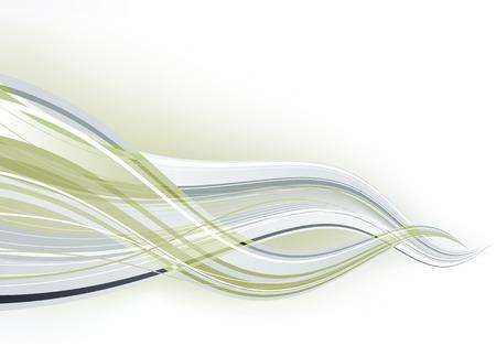 lichteffekte: Vektor-Illustration - abstrakte Hintergrund aus grauen Farbspritzer und gekr�mmte Linien Illustration