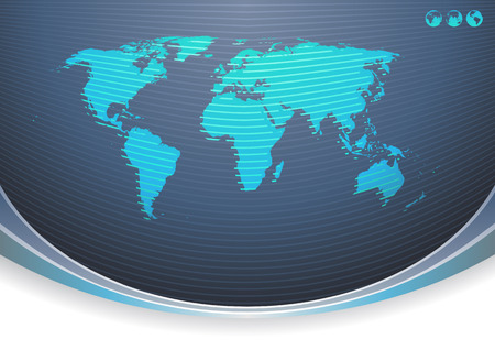 Vector illustration of Global Communication Background Vector