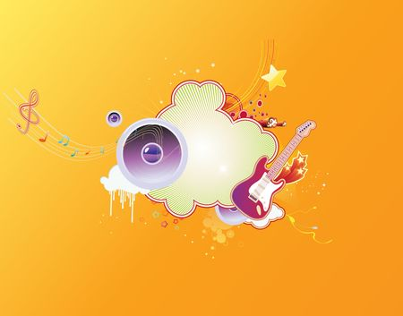 music abstract background Stock Photo - 5235925