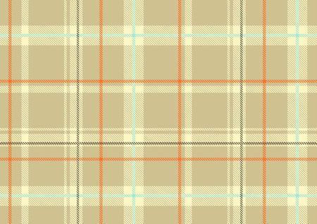 scot: The Scottish plaid. Textured tartan background.  Seamless pattern.  Stock Photo