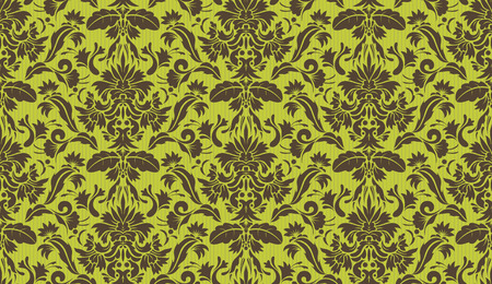Vector illustration of Seamless Ornate floral Decorative wallpaper background. Stock Vector - 5240780