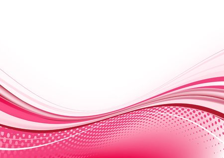 pink abstract techno background with of dots and curved lines. Great for backgrounds or layering over other images and text Stock Photo - 5262071