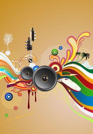 shiny abstract party design  Stock Photo - 5262131