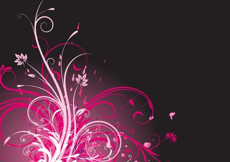 funky Floral Background Stock Photo - 5268206