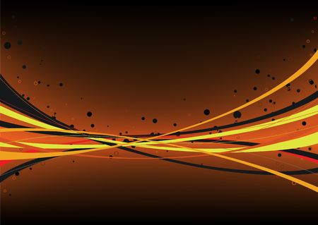 abstract background made of curved lines photo