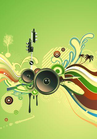 shiny abstract party design photo