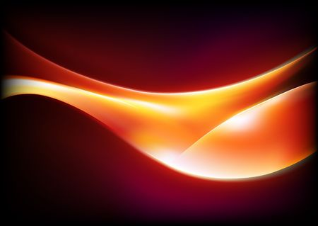 illustration of  futuristic abstract glowing background Stock Illustration - 6891619