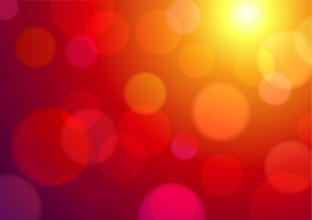 illustration of red abstract glowing background  Vector