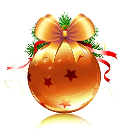illustration of cool Christmas decoration