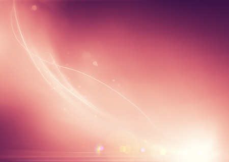 effects of lighting: Vector illustration of soft colored abstract background
