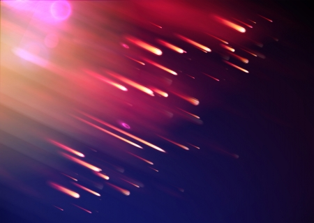 illustration of abstract background with blurred magic neon light rays