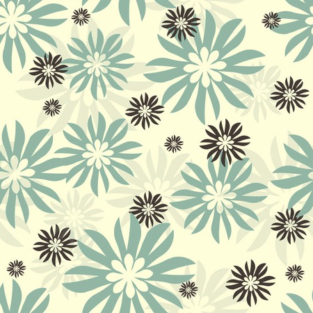 seamless: Seamless flower  background pattern