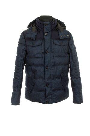 giacca invernale calda da uomo isolata su sfondo bianco Archivio Fotografico