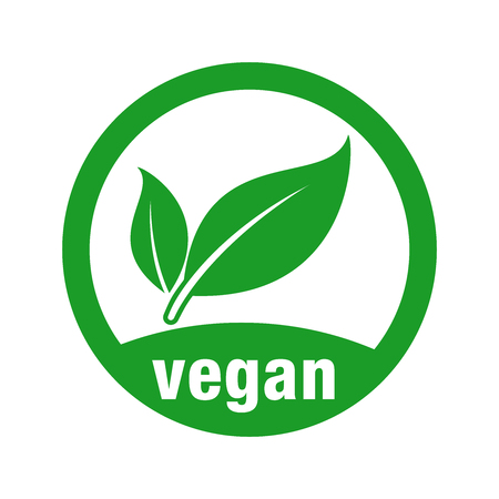 icon for vegan food 向量圖像